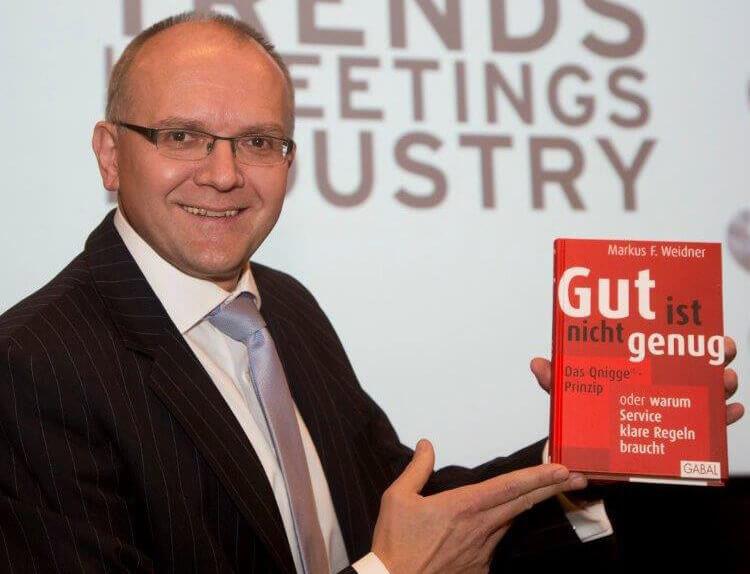 Markus Weidner präsentiert sein Buch Gut ist nicht genug
