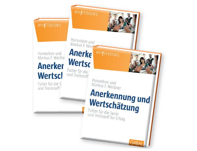 Buch Anerkennung und Wertschätzung von Hannelore und Markus Weidner