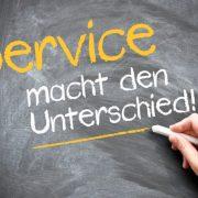 Servicequalität macht den Unterschied